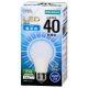 LED電球 一般電球形 40形相当 E26 昼光色 [品番]06-3176