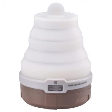 LEDソフトトップランタン ブラウン [品番]07-8822