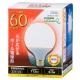 LED電球 ボール形 60形相当 電球色 [品番]06-0757