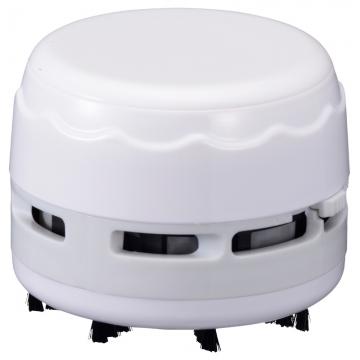 卓上そうじ機 乾電池式 ホワイト [品番]00-5157