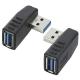 USBポート L字変換コネクター [品番]01-3735