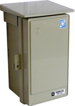 ウオルボックス 屋根付 タテ型 WB-1AJ [品番]00-9348