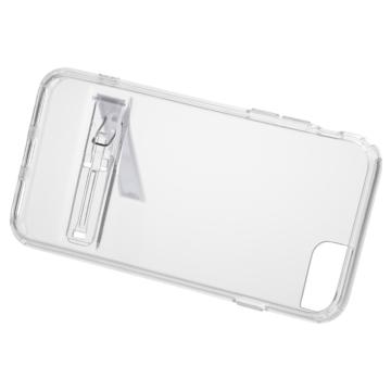 iPhone7&6/6S用 クリアケース スタンド付き [品番]01-3738