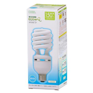 電球形蛍光灯 スパイラル形 E26 150形相当 昼光色 エコデンキュウ [品番]04-1495