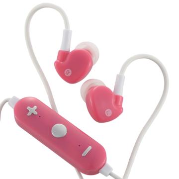 AudioComm Bluetoothステレオイヤホン ピンク [品番]03-0336