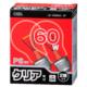 白熱電球 E26 60W クリア 2個入 [品番]06-0647
