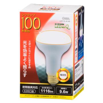 LED電球 レフランプ形 100W相当 E26 電球色 [品番]06-0791