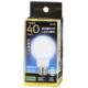LED電球 40W相当 E26 昼光色 全方向 密閉器具対応 [品番]06-1936