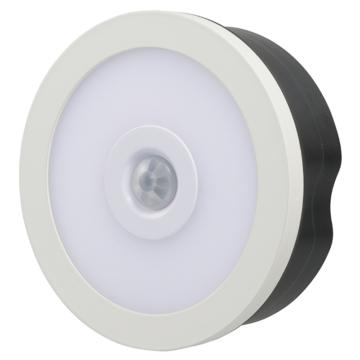 LEDタッチセンサーライト 明暗・人感センサー付 電球色 [品番]07-8937