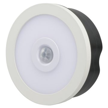 LEDタッチセンサーライト 明暗・人感センサー付 白色 [品番]07-8938