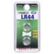 Vアルカリボタン電池 LR44 2個入 [品番]07-9978