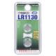 Vアルカリボタン電池 LR1130 2個入 [品番]07-9979