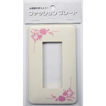 スイッチプレート バラ 3個口用 [品番]00-4639