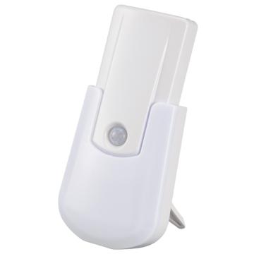 LEDセンサーライト 明暗・人感センサー 白色 [品番]06-0134