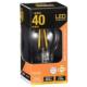 LED電球 フィラメント E26 40W相当 [品番]06-3462