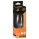 LED電球 フィラメント シャンデリア形 E26 25W相当 [品番]06-3468