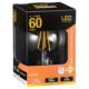 LED電球 フィラメント ボール形 E26 60形相当 [品番]06-3478