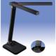 LED調光式 ツインセードデスクライト USBポート付 ブラック [品番]06-0117