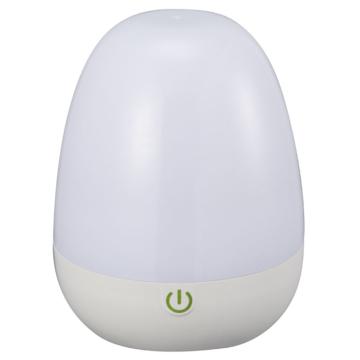 LEDタッチライト 2WAY電源 電球色 [品番]06-0137