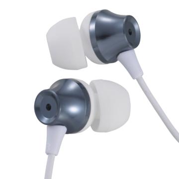 AudioComm ステレオイヤホン カナル型 ブルー [品番]03-2245