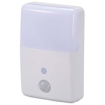 LEDナイトライト 明暗・人感センサー [品番]06-0636
