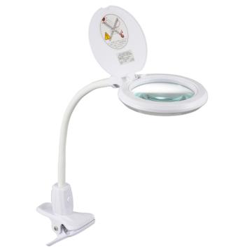 ルーペ付LEDクリップライト エルズーム [品番]07-6396