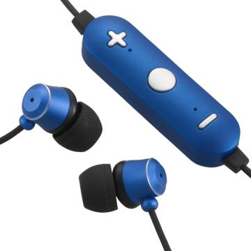 AudioComm Bluetoothステレオイヤホン ブルー [品番]03-1683