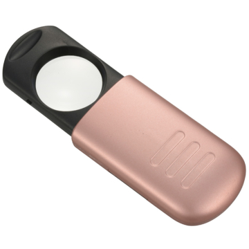 L-ZOOM ポケットルーペ2 ピンク [品番]07-8140