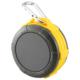 AudioComm Bluetooth ワイヤレスアウトドアスピーカー イエロー [品番]03-3109