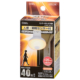 LED電球 E26 40形相当 人感・明暗センサー電球色 [品番]06-0787