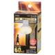 LED電球 レフランプ形 E26 60形相当 人感明暗センサー付 電球色 [品番]06-0789