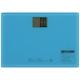 デジタル体重計 ブルー [品番]08-0078
