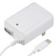 ACアダプター USB+TypeCケーブル 1m [品番]01-3747