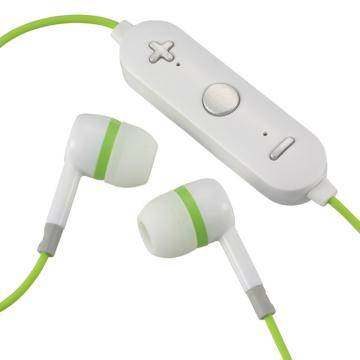 AudioComm ワイヤレスイヤホン グリーン [品番]03-0347