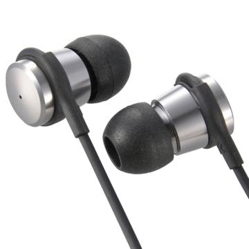 AudioComm ステレオイヤホン シルバー [品番]03-2262