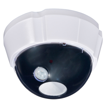 センサーライト 防犯カメラ型 [品番]07-7637