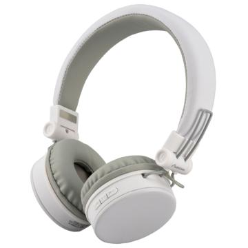 AudioComm ワイヤレスヘッドホン ホワイト [品番]03-2861