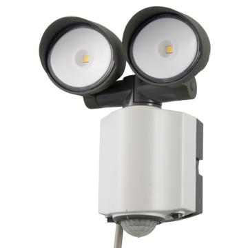 LEDセンサーライト 2灯 [品番]07-8892
