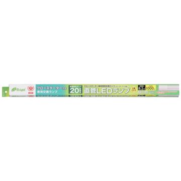 直管LEDランプ 20形相当 G13 昼白色 グロースタータ器具専用 [品番]06-0915