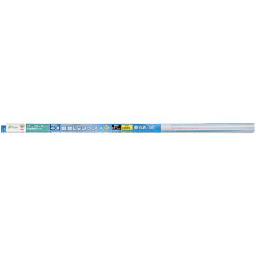 直管LEDランプ 40形相当 G13 昼光色 グロースタータ器具専用 [品番]06-0920