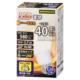 LED電球 E26 40形相当 調光器対応 電球色 [品番]06-1871