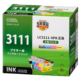 ブラザー互換 LC3111 4色パック [品番]01-4329