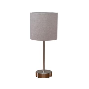 テーブルスタンド タッチ調光式 ライトグレー [品番]06-1835