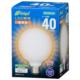 LED電球 ボール形 E26 40形相当 全方向 電球色 [品番]06-3599