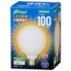 LED電球 ボール形 E26 100形相当 全方向 電球色 [品番]06-3603