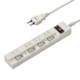 多機能節電タップ 4個口 5m [品番]00-6930