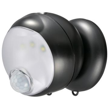 monban 360センサーライト ブラック [品番]06-4202