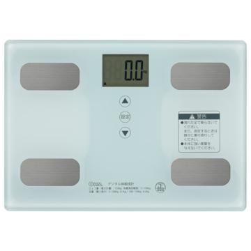 体重体組成計 ホワイト [品番]08-0491