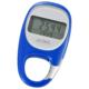 3Dセンサー歩数計 カラビナタイプ ブルー [品番]08-0018
