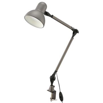 LEDアームライト クランプタイプ グレー [品番]06-3728